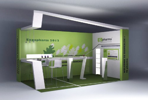 YES ARCHITECTURE., Expopharm, Messestand
